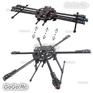 Tarot FY680 Foldable Hexacopter Carbon Fiber 680mm Frame Kit Drone TL68B01