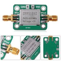 50-4000mhz RF Wideband Amplifier 0.6dB low-noise LNA Broadband Module Receiver