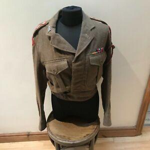 British Army Majors 2WW Battle dress Tunic