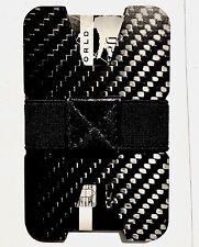 Identificador de Fibra de Carbono Cartera Clip de Dinero y titular de la tarjeta de crédito Delgada Pequeño Compacto RFID