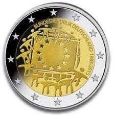 ALEMANIA 2 EUROS 2015 - 30 AÑOS DE LA BANDERA DE EUROPA  - SIN CIRCULAR -