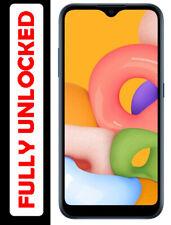 Brand New!! Samsung Galaxy A01 A015M 16GB Dual Sim GSM Unlocked Phone  - Blue