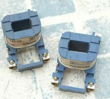 Lot de 2 Telemecanique LX1D2F7 bobine 110V 50/60Hz