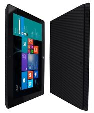 Skinomi Black Carbon Fiber Skin+Screen Protector for Microsoft Surface Pro 2