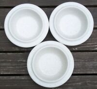 SET  OF  3   FABRIK  PTARMIGAN      SOUP / CEREAL BOWLS  about 7 inches across