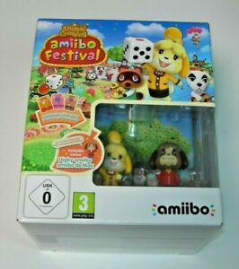 Animal Crossing: Amiibo Festival + 2 amiibo Wii U (PAL España precintado)