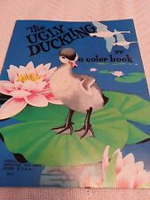 Vintage Landoll The Ugly Duckling Coloring Book Unused