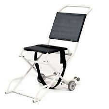 Folding ambulance narrow evacuation chair with 2 castors - Roma 1823