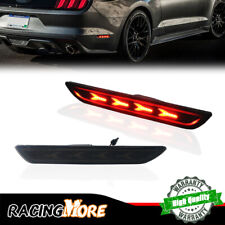 Direct Replace Rear Side Marker Lights Red LED Lamps For 2015-2018 Ford Mustang