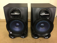 PHILIPS FWM400D/05 MICRO HIFI STEREO CD SYSTEM WIRED 240W SPEAKERS *P11*