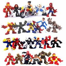 Random 5x Marvel Super Hero Squad Figure Captain America Spider-man Figure N287