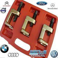 3pc Ball Joint Removal Set 23-28-34mm Low Profile Audi BMW VW Mercedes Ford