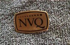 NVQ National Vocational Qualification Pin Badge Rare Vintage