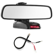 Mirror Mount Bracket + Mirror Wire Power Cord for Beltronics Rx65 Sti Magnum