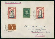 NETHERLANDS COMMERCIAL 1958 COVER ROERMOND TO FORT WAYNE IN USA