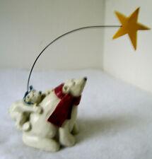 Polar Bear & Cub w/ North Star Statue by Star Stampin' Up Studio