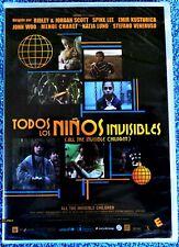 TODOS LOS NIÑOS INVISIBLES -DVD R2- Precintada