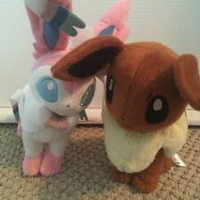 Pokemon Plush Lot - Eevee and Sylveon
