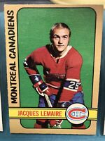 1972-73 O-PEE-CHEE HOCKEY #77 JACQUES LEMAIRE   CANADIENS