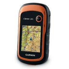Brand New Garmin eTrex 20x Handheld GPS - TopoActive West Europe Maps Included
