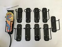 """10-pack """"Black"""" WAHL Clipper & Trimmer Holders *Holds Most Clippers & Trimmers"""