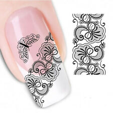 Pegatinas stickers Nº 5 para la decoración de uñas, nail art FX1338 Cenefa nai