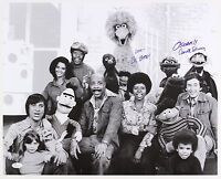 1970s Carroll Spinney and Sesame Street Cast Signed LE 16x20 B&W Photo (JSA)