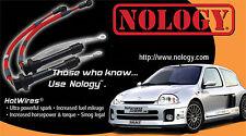 Nology HotWires Honda Civic Si DOHC VTEC 00-99 1.8L B18, 011 014 021 RED
