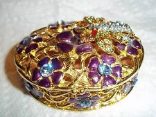 Small Dresser Box or Pill Box or Trinket Box