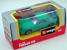 B burago 4191 Porsche 928 Verde 1/43 Die-Cast Made in Italy modelado estático