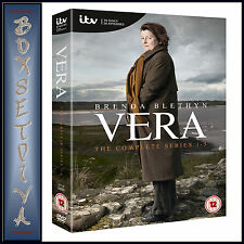 VERA  SERIES 1 2 3 4 & 5  COMPLETE  1 - 5 SERIES **BRAND NEW DVD BOXSET*