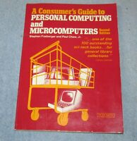Vtg 1980 CONSUMER'S GUIDE PERSONAL COMPUTING/MICROCOMPUTERS SC Freiberger J580