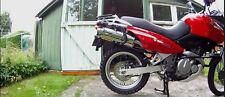 Suzuki Freewind Exhaust XF650 Exhaust by GPR.  Road Legal Stainless Tri Oval