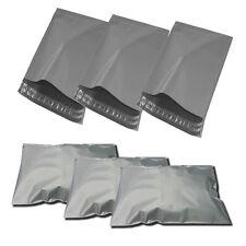 "1000 x Grey Mailing Postal Bags Strong Plastic Polythene 12 x 16"" 305x405mm No2"