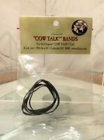 COW TALK ELK CALL BAND REPLACEMENT BANDS 1 pack 4 replacment bands