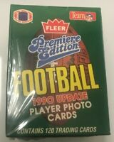1990 NFL Fleer Update Premiere Edition Factory Sealed Set Emmitt Smith RC🔥
