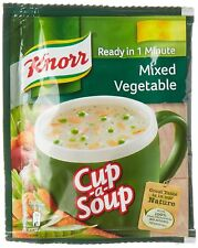 5 X Knorr Cup A Soup  Mixed Vegetables free shipping