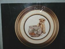 COUNTED CROSS STITCH KIT   NEEDLEART CAT at FISH BOWL