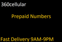 Prepaid Phone Numbers To / For PORT to Tmobile, ATT, CRICKET etc.  Not Sprint