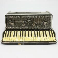 Vintage Soprani Cardinal Accordion w/ Case #40244