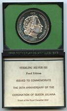 Netherlands Antilles 1973 Silver Coin $25 Coronation of Queen Juliana - AK838