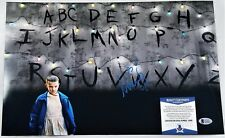 Millie Bobby Brown SIGNED 11x17 PHOTO Autograph BAS COA Stranger Things Eleven