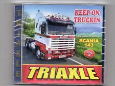 TRIAXLE - 'KEEP ON TRUCKIN' - CD - Free Post UK