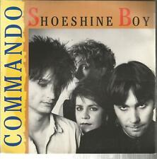 45 TOURS  2 TITRES/ COMMANDO   SHOESHINE BOY       A
