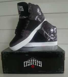 """Osiris Shoes """"Huit Haunted"""" NYC 83  VLC -  Lifestyle High Top Skate"""