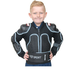 Wulfsport Cub Full Deflector Jacket - Youth Body Armour Race Protection Kid Size