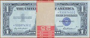 1) $1 SILVER CERTIFICATE *⭐️STAR NOTE⭐️* 1957 (VERY RARE) UNCIRCULAT NON-CONSEC
