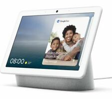GOOGLE Nest Hub Max - Chalk - Currys