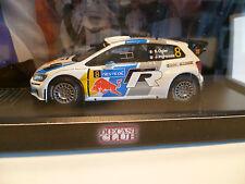 VOLKSWAGEN POLO R WRC N°8 S.OGIER : TOUR DE FINLAND de 2013 ~  NEUF