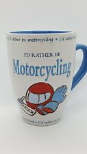 History & Heraldry I'd Rather Be Motorcycling Mug